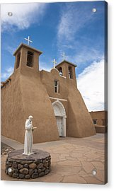 Acrylic Print featuring the photograph St. Francis #1 by Don McGillis