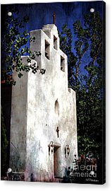 St. Francis De Paula Acrylic Print by Barbara Chichester