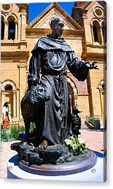 St Francis Of Assisi - Santa Fe Acrylic Print