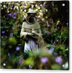 St. Francis Of Assisi Acrylic Print by Tara Miller