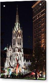 St. Francis Xavier Church Acrylic Print