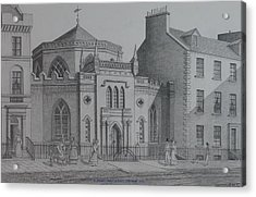 St Georges Chapel Edinburgh Acrylic Print