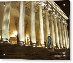 St. Georges Hall Liverpool Uk Acrylic Print by Steve Kearns