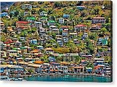 St. Georges Harbor Grenada Acrylic Print