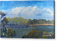 St Georges River Near Como Marina  Acrylic Print