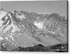 St. Helen's Crater Acrylic Print by Tikvah's Hope