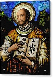 St. Ignacius Of Loyola Acrylic Print
