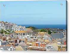 St Ives Acrylic Print by Caphoto