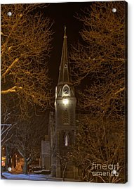 St. James Episcopal Church Steeple Acrylic Print