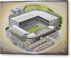 St  James Park - Newcastle United Acrylic Print