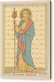 St James The Great Acrylic Print by English School