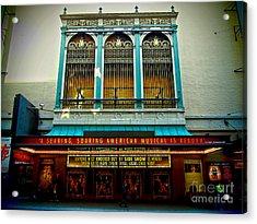 St. James Theatre Balcony Acrylic Print