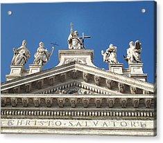 Acrylic Print featuring the photograph St. John Lateran by Joe Winkler
