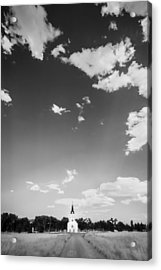 St John The Evangelist Catholic Church Bw Acrylic Print
