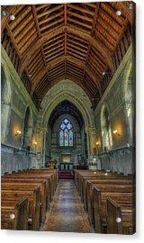 St John The Evangelist Acrylic Print by Ian Mitchell