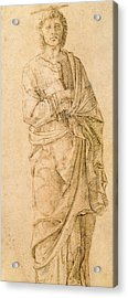 Saint John The Evangelist Acrylic Print by Italian School