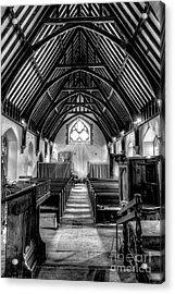 St John Ysbyty Ifan Acrylic Print by Adrian Evans