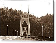 St. John's Bridge Acrylic Print