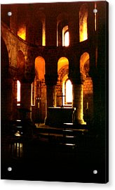 St. John's Chapel In The Tower Of London Acrylic Print