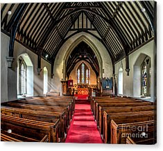 St Johns Church Acrylic Print by Adrian Evans