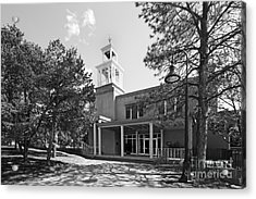 St. John's College Santa Fe Weigle Hall Acrylic Print by University Icons