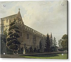 St Johns College Seen From The Garden Acrylic Print