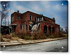 Acrylic Print featuring the photograph St. John's Hospital by Jerome Lynch