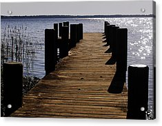 St Johns River Florida - A Chain Of Lakes Acrylic Print by Christine Till