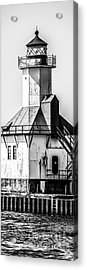 St. Joseph Lighthouse Vertical Panorama Picture  Acrylic Print
