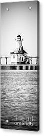 St. Joseph Lighthouse Vertical Panoramic Photo Acrylic Print
