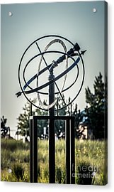 St. Joseph Whirlpool Compass Fountain Water Cannon Acrylic Print by Paul Velgos