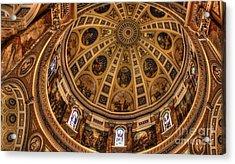 St. Josephat Dome Acrylic Print by David Bearden