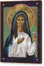 St Kateri Tekakwitha Acrylic Print