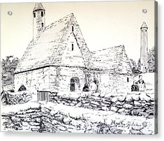 St Kevin's Acrylic Print