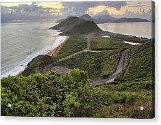 St Kitts Overlook Acrylic Print