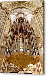 St Lambertus Organ Acrylic Print