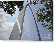 Acrylic Print featuring the photograph St. Louis Arch by Utopia Concepts