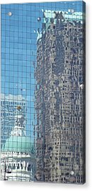 St. Louis Bldg Reflections Acrylic Print