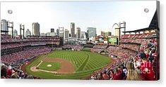 St. Louis Cardinals Pano 1 Acrylic Print