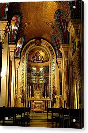 St Louis Cathedral Basilica Acrylic Print