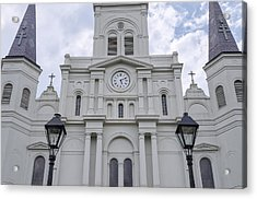 St. Louis Cathedral Close-up Acrylic Print