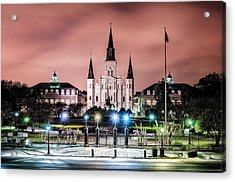 St. Louis Cathedral In The Morning Acrylic Print