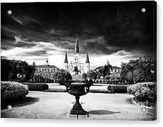 St. Louis Cathedral Acrylic Print by John Rizzuto