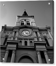 St. Louis Cathedral Perspective Acrylic Print by Shelly Stallings