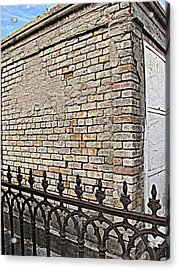 St Louis Cemetery No. 1 Acrylic Print by Beth Vincent