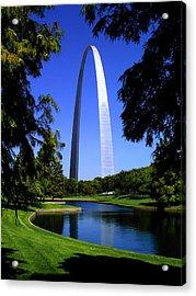 St Louis Gateway Arch Acrylic Print