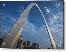 St. Louis Gateway Arch Sunrise Acrylic Print