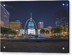 St. Louis Missouri Gateway Arch  Acrylic Print