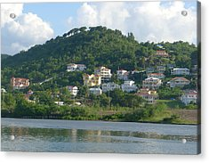 St. Lucia - Cruise View  Acrylic Print