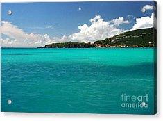 St. Maarten Caribbean Paradise Acrylic Print